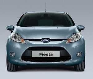 Внешний вид Ford Fiesta VI