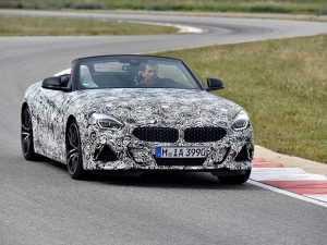BMW показали фото нового родстера Z4