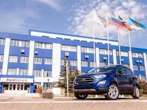 В России запущено производство обновленной модели Ford EcoSport