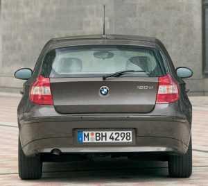 Внешний вид BMW 1 series