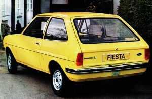 Внешний вид Форд Фиеста I