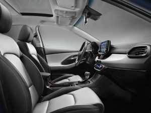 Интерьер Hyundai i30 PD