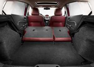 Багажное отделение Форд Фиеста 6