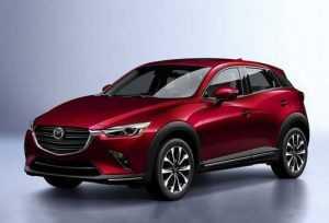 Mazda презентовали обновленную модель CX-3
