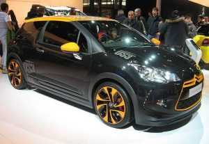 Хэтчбек Citroen DS3 Racing Limited Edition