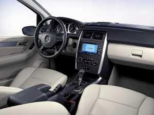 Салон Mercedes-Benz B-class W245