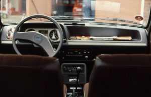 Салон Ford Fiesta 1