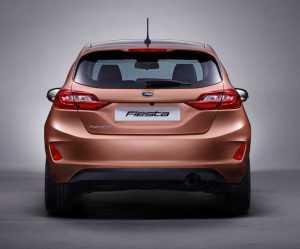 Внешний вид Ford Fiesta VII