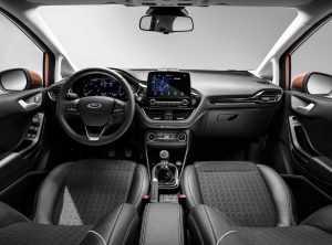 Салон Ford Fiesta VII