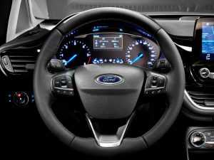 Интерьер Ford Fiesta VII