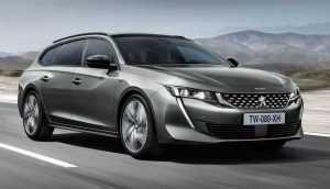 Peugeot представит универсал 508 SW на автосалоне в Париже