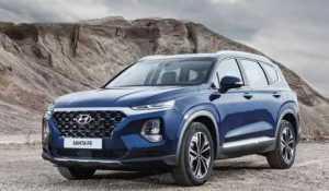 Hyundai представили люксовую версию кроссовера Santa Fe