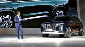 Hyundai показали концептуальный кроссовер HDC-2 Grandmaster
