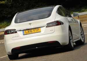 Экстерьер Тесла Model S, рестайлинг