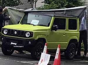 Новый Suzuki Jimny сфотографировали без камуфляжа