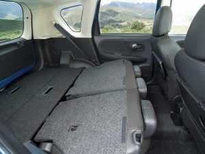 Багажное отделение Nissan Note I