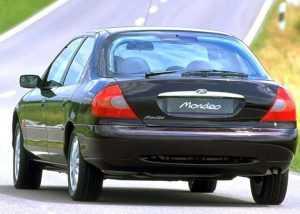 Внешний вид Ford Mondeo второго поколения