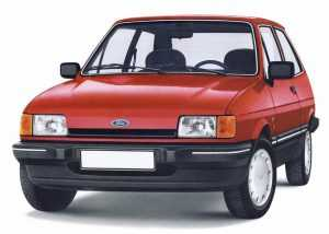 Внешний вид Ford Fiesta II
