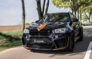 Специалисты G-Power представили тюнингованный BMW X6 M