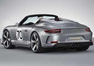 Компания Porsche к своему 70-летнему юбилею собирается выпустить концепт-кар 911 Speedster