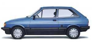 Экстерьер Форд Fiesta II