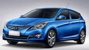 Хэтчбек Hyundai Solaris, рестайлинг