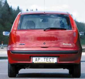 Внешний вид Fiat Punto второго поколения
