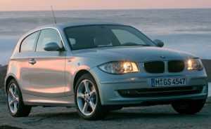 3-дв. хэтчбек BMW 1 серии