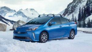 Полноприводная модель Toyota Prius 2019
