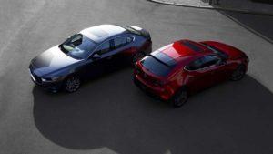 Новые хэтчбек и седан Mazda 3 2019