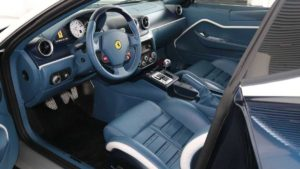 Спортивный автомобиль Феррари 599 GTZ Nibbio Zagato