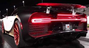 Гонки на Bugatti Chiron