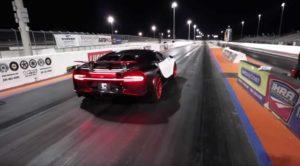Заезд на Bugatti Chiron